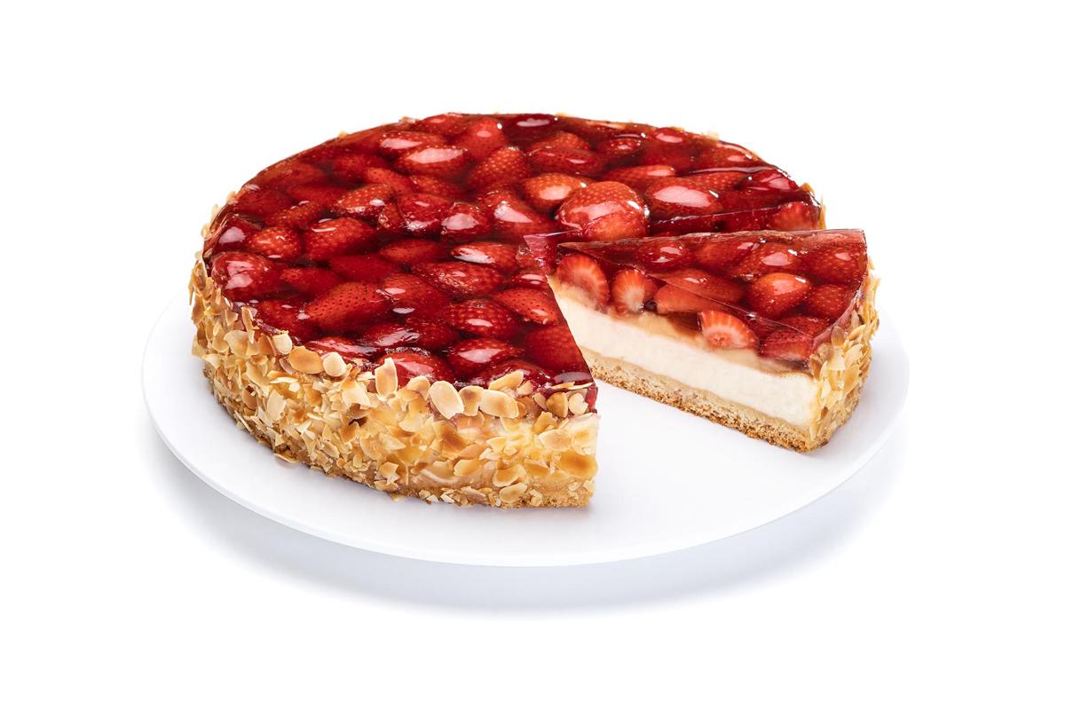 Käse-Erdbeer-Kuchen