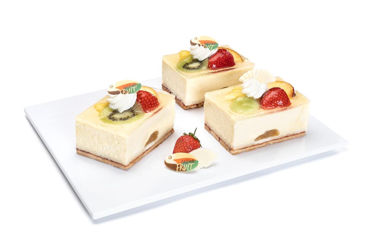 Maracuja-Joghurt-Sahne Schnitte