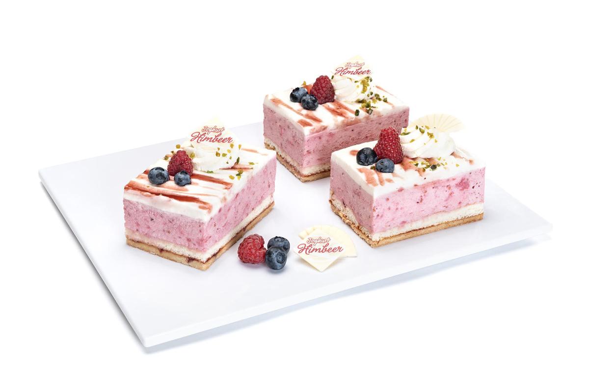 Himbeer-Joghurt-Sahne Schnitte