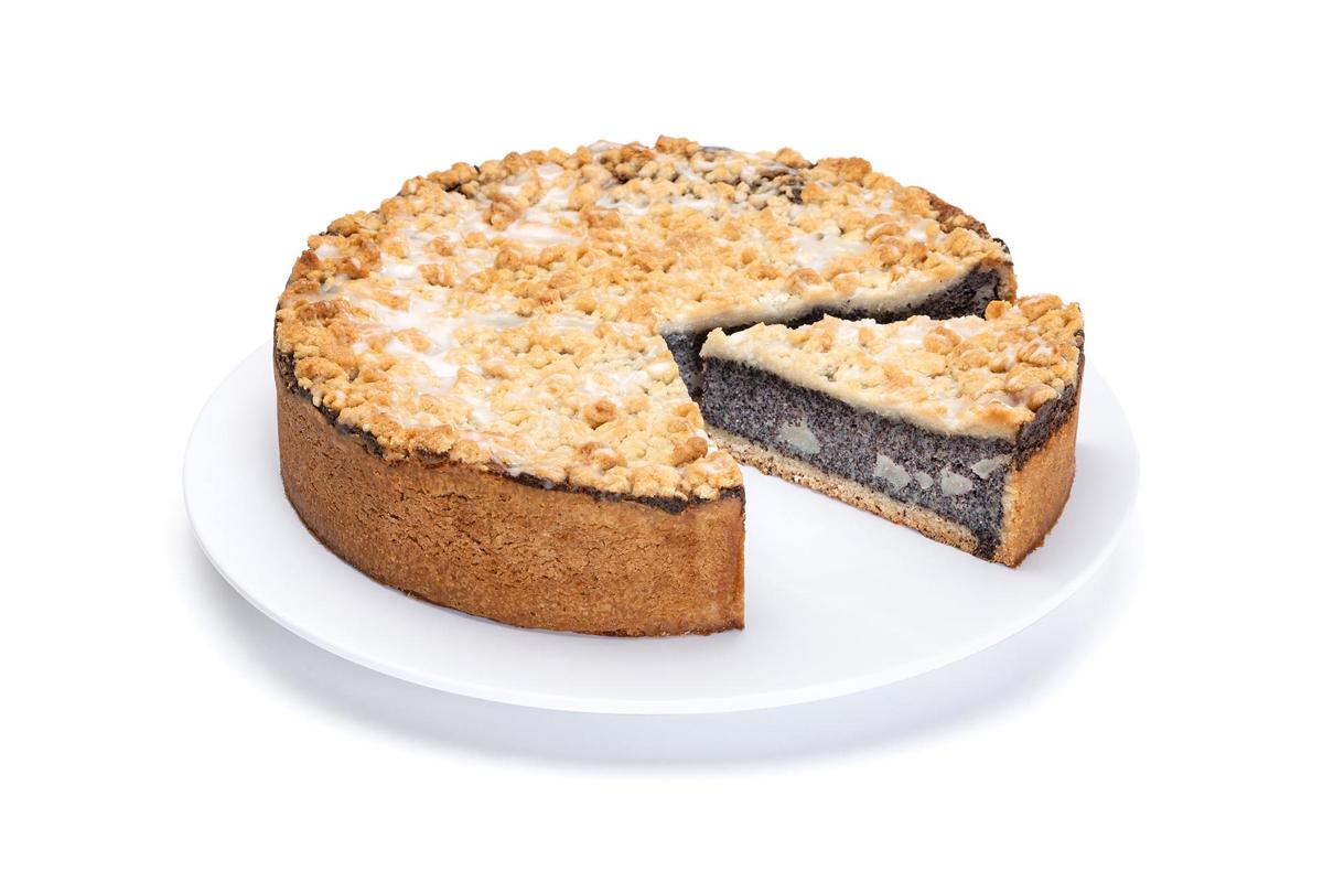 Mohn-Birne-Kuchen
