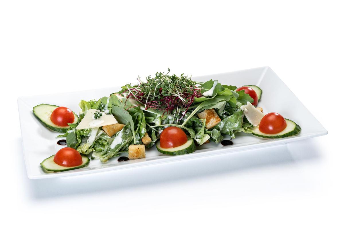 Casear Salad mit Hähnchen
